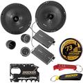 """""""Kicker 46CSS674 CS Series Component Car Speakers and Kicker Swag Bag Bundle. 100 Watts RMS 300 Watts Peak 6-3/4"""""""" Extended Voice Coil EVC Full Range Speakers, Fits Nearly Ever Car Ever Made"""""""