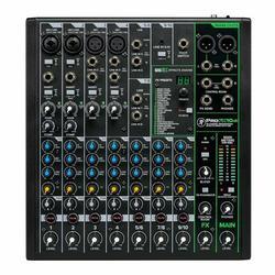 Mackie ProFX Series, Mixer - Unpowered, 10-Channel w/USB (ProFX10v3)