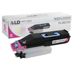 LD Compatible Replacement for Kyocera Mita TK-867M Magenta Laser Toner Cartridge for use in Kyocera Mita TASKalfa 250ci, and 300ci s