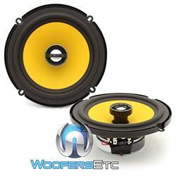 """JL Audio C1-650x 6-1/2"""" 2-Way Coaxial Car Audio Speakers"""