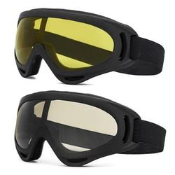 YouLoveIt Ski Goggles, 2-pack Snowboard Goggles with UV Protection,Winter Outdoor Sports Goggles Ski Snowboard Skate Glasses Bicycle Motorcycle Protective Glasses for Men Women Youth Boys Girls