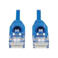 Tripp Lite N261-S10-BL Tripp Lite Cat6a 10G Snagless Molded Slim UTP Ethernet Cable (RJ45 M/M), Blue, 10 ft.