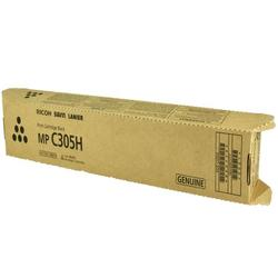 OEM Ricoh Toner Cartridge, BLACK, 12K YIELD - for use in Ricoh AFICIO MP C305SP printer, AFICIO MP C305SPF