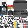 GoPro HERO8 (Hero 8) Action Camera (Black) with Ultimate Accessory Bundle -Includes: SanDisk Extreme 32GB microSDHC Memory Card, Flexible Tripod, Selfie Stick, Floating Grip and More