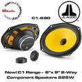 """""""JL Audio C1-690 6"""""""" X 9"""""""" 2-Way Component Car Audio Speakers"""""""