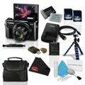 Canon PowerShot G7 X Mark II Digital Camera 1066C001 (International Model) + NB-13L Replacement Lithium Ion Battery + 16GB SDHC Class 10 Memory Card + Flexible Tripod with Gripping Rubber Legs Bundle