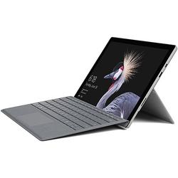 """Microsoft Surface Pro - Tablet - with detachable keyboard - Core i5 7300U / 2.6 GHz - Win 10 Pro 64-bit - 8 GB RAM - 128 GB SSD - 12.3"""" touchscreen 2736 x 1824 - HD Graphics 620 - Wi-Fi, Bluetooth - kbd: US - with Surface Pro Signature Type Cover..."""