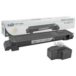 LD Compatible Replacement for Kyocera-Mita TK-897K Black Laser Toner Cartridge for use in Kyocera-Mita TASKalfa 205c, 255, 255c, FS-C8520MFP, and FS-C8525MFP s