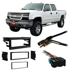Fits Chevy Avalanche 2002 Single DIN Stereo Harness Radio Install Dash Kit, Fits Chevy Avalanche 2002 Single DIN Stereo Harness Radio Install Dash Kit By Harmony Audio
