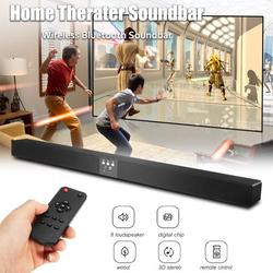 60W 5.1 Channel Long Wireless bluetooth Stereo Soundbar Speaker 3D Surround Sound HIFI Subwoofer Home Theater with Remote Control