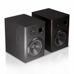 Pyle PBKSP52 - Desktop Bookshelf Speakers - HiFi Studio Monitor Computer Desk Stereo Speaker System (400 Watt MAX)