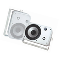 Pyle Home PDWR50W 6.5-Inch Indoor/Outdoor Waterproof Speakers (White) (Pair)