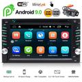 EINCAR Android 10.0 Car Stereo Double Din Head Unit with Bluetooth 6.2'' Touchscreen Car Radio Player GPS Navigation System Free Backup Camera Support WiFi Fast Boot Mirrorlink OBD2 2GB ROM