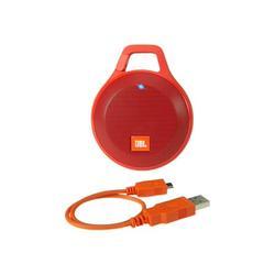 JBL Clip+ - Speaker - for portable use - wireless - Bluetooth - 3.2 Watt - red