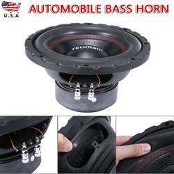 """10"""" 1600 Watt Max Power Dual 4 Ohm Car Subwoofer Automobile Bass Horn"""