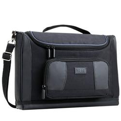 S7 Pro Storage Case Bag for Nest Indoor / Outdoor Cam & Accessories by USA Gear - Customizable Dividers, Shoulder Strap, Accessory Pockets - Small Case Fits Several Cameras, Spare Cables, & more