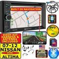 07 08 09 10 11 12 NAVIGATION CD/DVD BLUETOOTH USB NAV BT GPS CAR RADIO STEREO