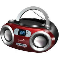 Supersonic Portable Bt Audio System Red