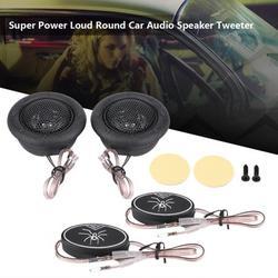 Kritne Dome Car Tweeter,Pair of 12V 150W Car Mini Super Power Loud Dome Audio Speaker Tweeter Loudspeaker Horn