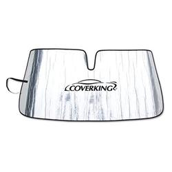Coverking CSSZ65FD5076 Custom Windshield Sunshade for Select Ford Ranger Models - Reflective Mylar Foam (Silver)