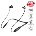 Woozik Flex Wireless Neckband Headphones, Wireless Earbuds, In-Ear Headset, Sport Fit with 12 Hour Battery Life, Built-in Mic and Magnetic Connection (F08)