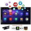 Double Din Android 10.0 Car Radio GPS Navigation Audio Car Stereo with Bluetooth 4.0 2 Din in Dash Entertainment Video Music Playing Capacitive Touchscreen USB SD Media Player