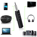Car Bluetooth Wireless Adapter 3.5mm plug Music System Receiver Speaker Streaming
