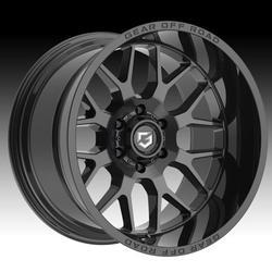 Gear Off Road 763B Raid Gloss Black 20x10 6x135 -12mm (763B-2106312)