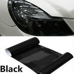 High Quality Dark Smoke PVC Car Headlight Tint Film Taillight Tail Wrap Fog Light Sticker 30CM*100CM;30CM*100CM Car Headlight Tint Film Taillight Tail Wrap Fog Light Sticker