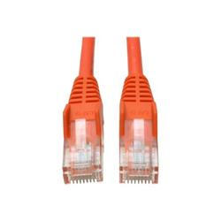 Tripp Lite N001-010-OR Tripp Lite Cat5e 350MHz Snagless Molded Patch Cable - (RJ45 M/M) - Orange, 10-ft.