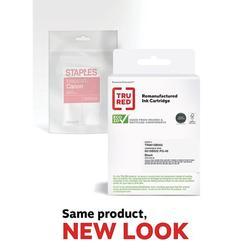 TRU RED Canon PG-40 Black Remanufactured Standard Yield Ink Cartridge TR0615B002/SIC-
