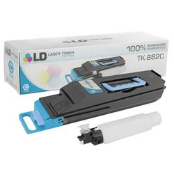 LD Compatible Replacement for Kyocera-Mita 1T02KACUS0 (TK-882C) Cyan Laser Toner Cartridge for use in Kyocera-Mita FS-C8500DN