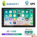 """""""7"""""""" 2Din GPS Car Stereo Radio TFT Capacitance Touch Screen Car MP5 Player with Bluetooth WIFI GPS FM Radio Receiver Suppport Rear Camera"""""""