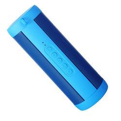 VicTsing Professional Waterproof Outdoor HIFI Column Speaker Wireless Bluetooth Speaker Subwoofer Sound Box with Flashlight Support FM Radio TF Mp3 Player Mobile Phone - Blue
