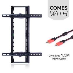Adjustable TV Wall Mount - Tilting TV Mounting Brackets fit 37, 40, 42, 55, 65, 70 Inch Plasma Flat Screen TV