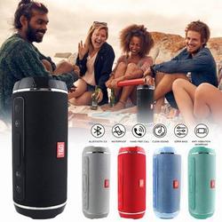 Portable Waterproof Outdoor HIFI Column Speaker Wireless Bluetooth Speaker Subwoofer Sound Box Support FM Radio TF Mp3 Player Mobile Phone