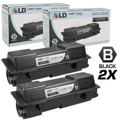 Compatible Replacements for Kyocera-Mita TK-1142 Set of 2 Black Laser Toner Cartridges for use in Kyocera-Mita FS-1035 MFP, FS-1135 MFP, and Laser M2035dn s