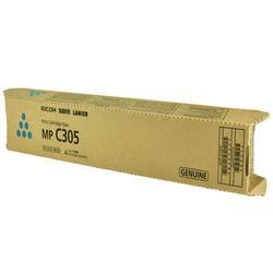 OEM Ricoh Toner Cartridge, CYAN, 4K YIELD - for use in Ricoh AFICIO MP C305SP printer, AFICIO MP C305SPF