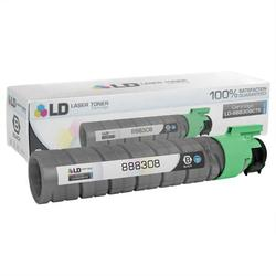 LD Compatible Replacement for Ricoh 888308 (Type 145) High Yield Black Laser Toner Cartridge for use in Ricoh Aficio CL4000DN, SP C410DN, SP C411DN, and SP C420DN s