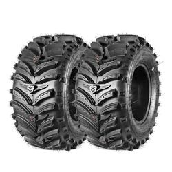 Maxauto ATV Tires AT 27x12-12 27x12x12 Rear ATV UTV Tire 6PR Mud Sand Rocky Trail Tire All Terrain Tires (Set of 2)