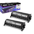 Speedy Compatible Toner Cartridge Replacement for Panasonic KX-FA85 (Black, 2-Pack)