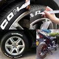 Atralife Marker pen 10 PCS White Tyre Paint Marker Pens Set, Universal Waterproof Permanent Pen Fit for Car Motorcycle Tire Tread Rubber Metal