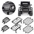 LYUMO Front Light Cover,6pcs/set Headlight Cover Rear Side Lamp Guard Kit Fit,RC Car Accessory