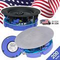 New Gravity HiFi 6.5� 200W Flush Mount 2-Way Wall Speaker Ceiling Speaker Pro