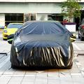 Car Cover Waterproof All Weather SUV Car Covers for Automobiles Car Sun Protection/Dustproof/Scratch Resistant Cover Full SUV Covers,BLACK