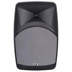 "QFX PBX-28 8"" Elite Portable Karaoke Party Bluetooth Speaker with dual microphone input - Gray"