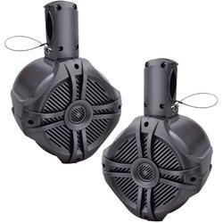 Marine-Grade 6.5 in. Wake Tower Speaker System - Set of 2, Set of 2 By Brand Power Acoustik
