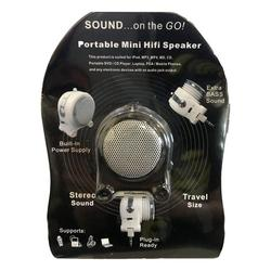 Pony Portable Mini Hifi Rechargeable Speaker with Extra Bass Sound MP3 Player
