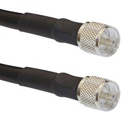 MPD Digital 75 ft Ham / CB Radio Antenna Coax Genuine LMR-400 Coaxial Cable Antenna Transmission Line PL-259 Connector MADE IN THE USA
