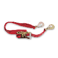 Ratchet Tie-Down and Axle Strap Combo in Red 500RASRD California Car Cover